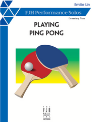 Playing Ping Pong by Emilie Lin