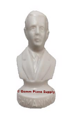"Authentic Rachmaninoff Composer Statuette, 4-1/2"" High"