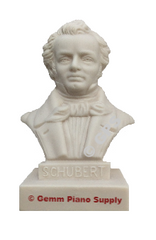 "Authentic Schubert Composer Statuette, 5""- 5-1/2"" High"