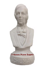 "Authentic Schumann Composer Statuette, 4-1/2"" High"