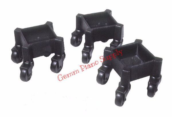 Square Grand Piano Leg Dollies