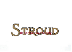 Stroud Piano Fallboard Decal
