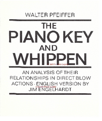 The Piano Key and Whippen, Hardback by Pfeiffer