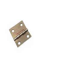 Piano Bench or Vertical Piano Lid Hinges, Brass Plated