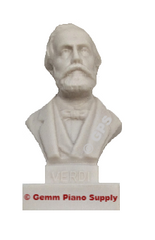 "Authentic Verdi Composer Statuette, 5""- 5-1/2"" High"