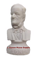 "Authentic Wagner Composer Statuette, 4-1/2"" High"