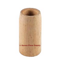 Piano Caster Wood Ferrule