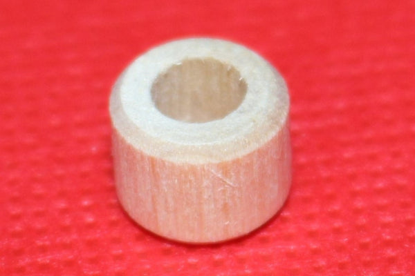 "Piano Wood Tuning Pin Bushings 7/16"" diameter, 1/4"" center hole. 5/16"" high"