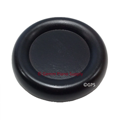 Piano Dual Wheel Hardwood Caster Cup, Ebony