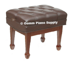 Standard Artist Piano Bench Mahogany Satin Finish
