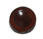 Piano Small Hardwood Maple Caster Cups, Satin 3-1/2""