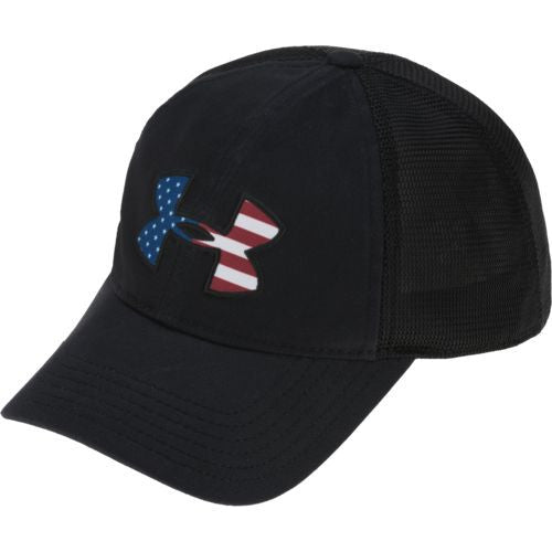 UA Big Flag Logo Mesh Cap - SCI2WAY