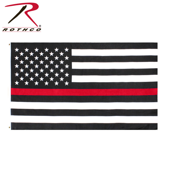 Thin Red Line Flag Decal - SCI2WAY