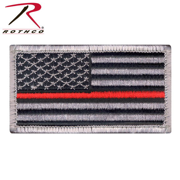 Thin Red Line US Flag Patch - SCI2WAY