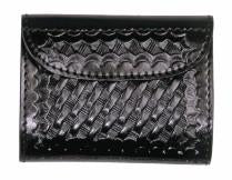 BASKETWEAVE LEATHER GLOVE CASE - SCI2WAY