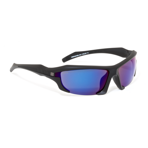 5.11 Tactical Burner Half-Frame Mirrored Sunglasses
