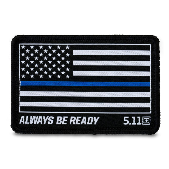 5.11 Tactical Thin Blue Line Woven Patch