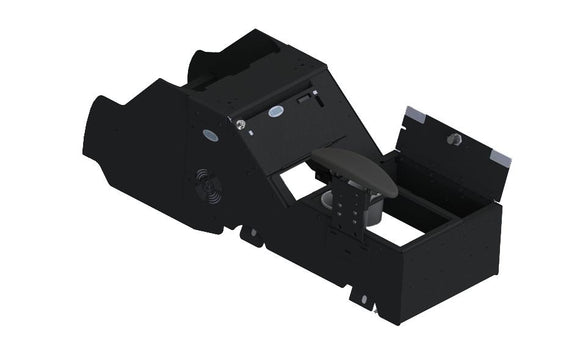 2021+ Chevrolet Tahoe Wide Body Console Box Kit with Internal Printer Mount, Armrest and Cup Holder