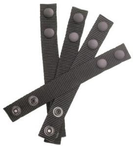 "BALLISTIC NYLON 1"" KEEPERS SET OF 4 FOR 2"" BELTS"