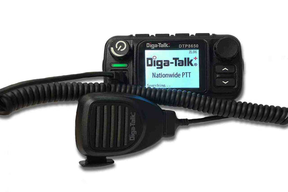 DTP 8650 Mobile Radio