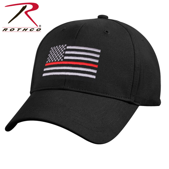 Thin Red Line Flag Low Profile Cap - SCI2WAY