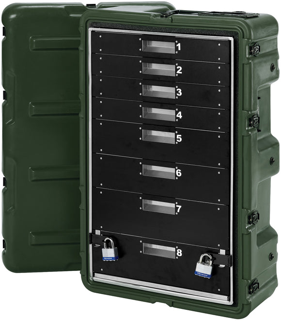 Pelican Products 472-MEDCHEST3-8D Medical Supply Case