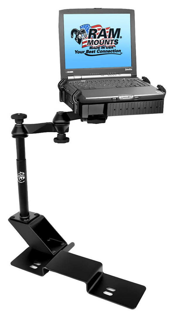 No-Drill™ Laptop Mount for the Ford F-150 & Lincoln Mark LT - SCI2WAY