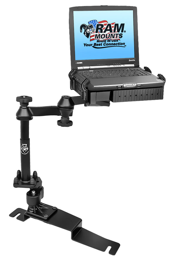 No-Drill™ Laptop Mount for the Ford Police Interceptor Sedan - SCI2WAY