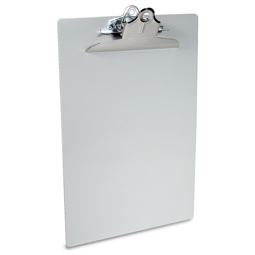 Saunders Aluminum Clipboard W/ High Profile Clip