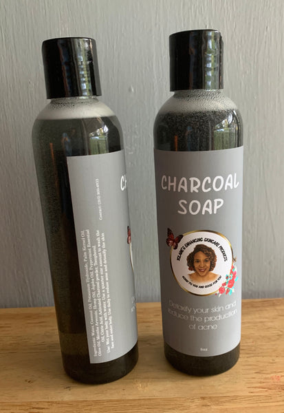 Charcoal Soap Body Wash