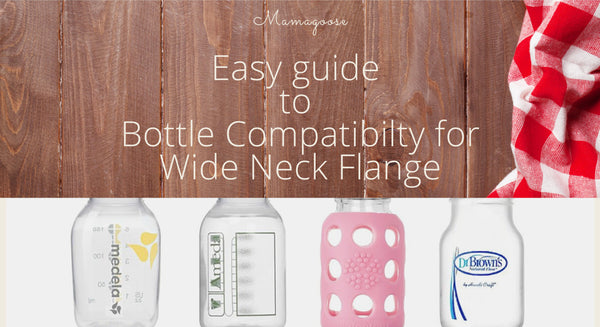 Easy guide of bottle compatibility to your Wide Neck Flanges