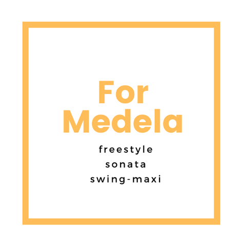 Medela Freestyle, Swing Maxi and Sonata breast pump compatible product