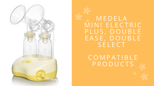 Medela Mini Electric Plus, Double Ease, Double Select breast pump compatible part | Mamagoose