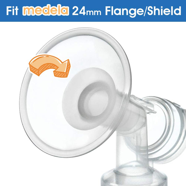 Breast Pump Parts | Flange Insert for Medela and Spectra breast pump | Mamagoose | Part/Accessory for Medela