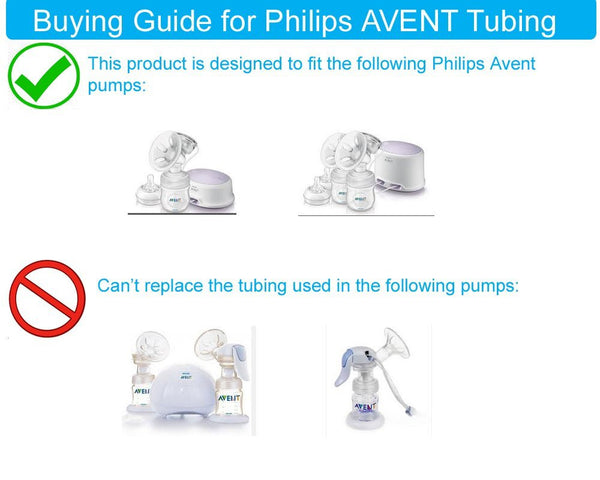 Tube for Philips AVENT Comfort and Spectra S1 S2 S9 breast pump - Mamagoose