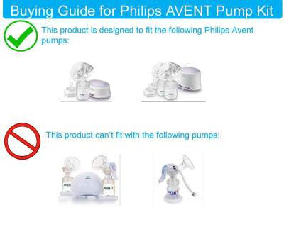 Breast Pump Parts | Replacement Kit for Philips AVENT Comfort breast pump | Mamagoose | Part/Accessory for Philips Avent
