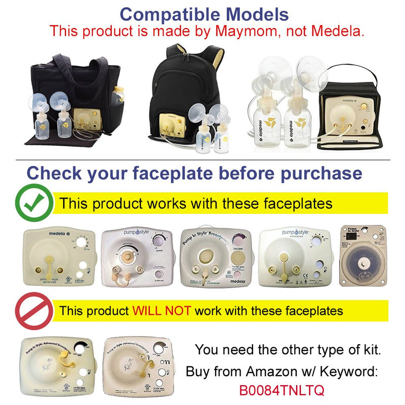 Breast Pump Parts | Maymom replacement set for Medela Pump In Style Advance (PISA) Breast Pump | Mamagoose | Part/Accessory for Medela