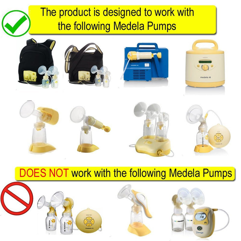 Breast Pump Parts | Maymom Breast shield Flange for Medela breast pump with valve and membrane | Mamagoose | Part/Accessory for Medela