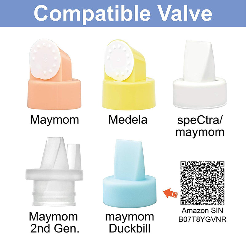 Breast Pump Parts | Maymom Wide Neck Base Connector for Spectra Pump | Mamagoose | Part/Accessory for Medela