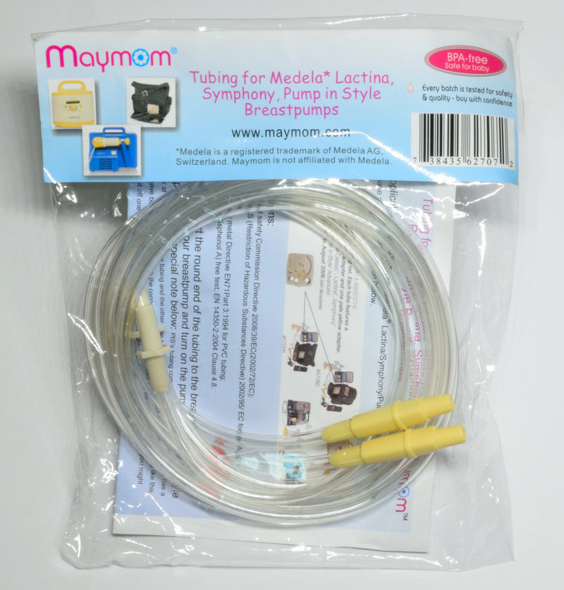 Breast Pump Parts | Tubing for Medela Latina, Symphony and Pump-in-Style (PIS) | Mamagoose | Part/Accessory for Medela
