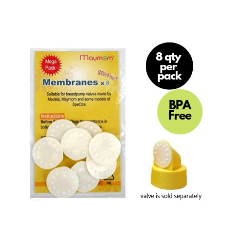 Breast Pump Parts | Maymom Membrane for Medela Maymom Valve | Mamagoose | Part/Accessory for Medela