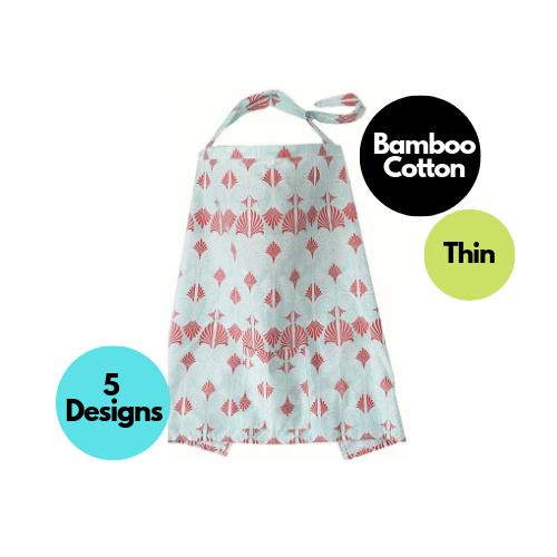 Breast Pump Parts | Bamboo Cotton Nursing Cover | Mamagoose |