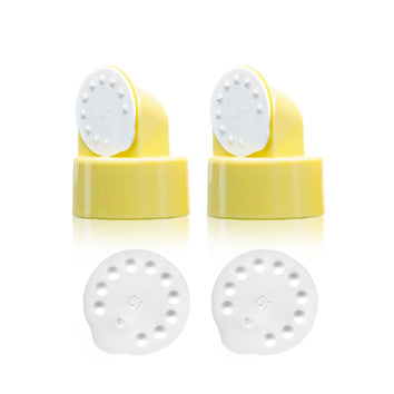 Breast Pump Parts | Maymom Valve and Membrane for Medela Breast pump Maymom Breastshield Flange | Mamagoose | Part/Accessory for Medela