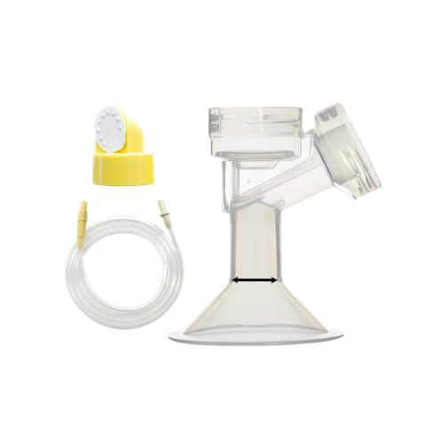 Breast Pump Parts | Replacement set for Medela Swing (single-sided) Breast Pump | Mamagoose | Part/Accessory for Medela