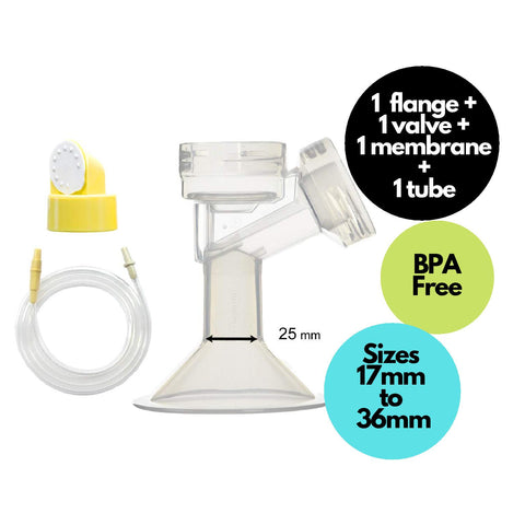Replacement set for Medela Swing (single-sided) Breast Pump - Mamagoose