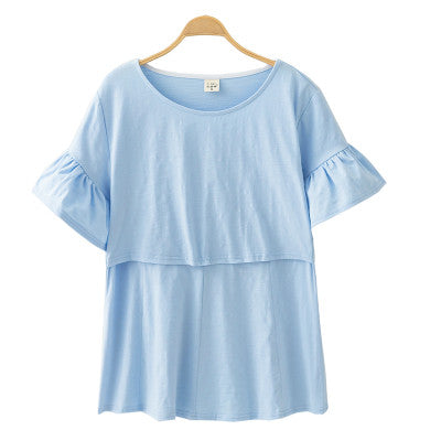 Maternity and Nursing Breastfeeding Tee Top - Mamagoose