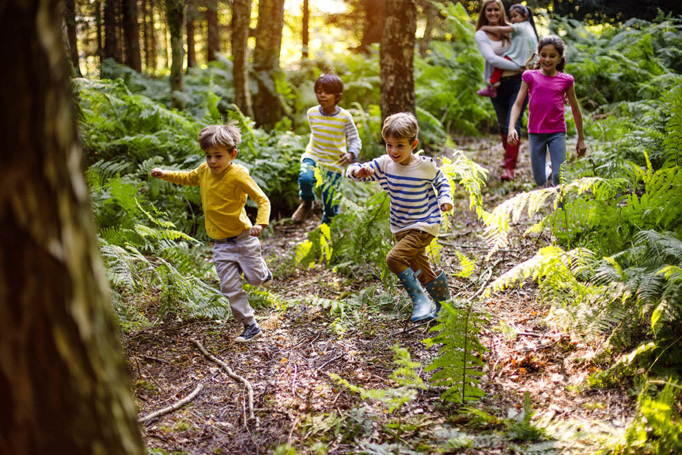 Can being outdoors teach valuable life skills for kids?