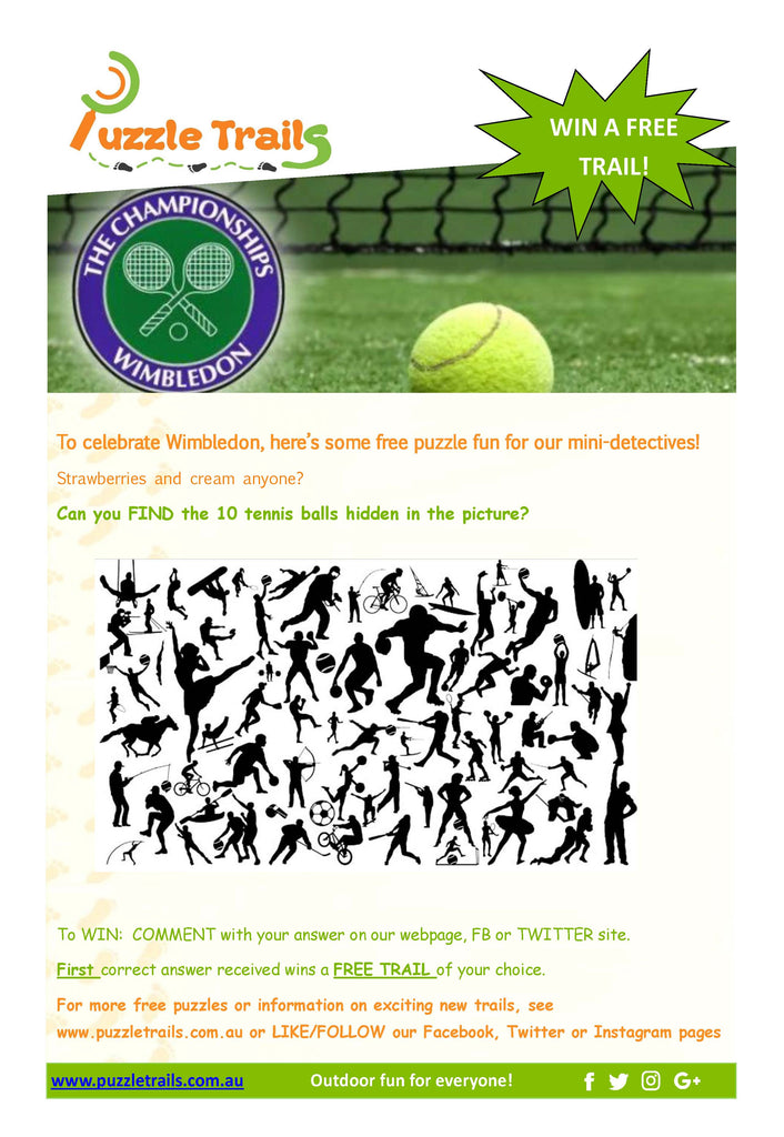 Anyone for Tennis? Win a FREE trail!