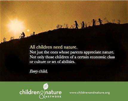 Why our children need nature so much!