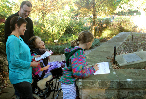 Accessible things to do in Sydney. Have accessible outdoor fun solving clues, cracking codes and doing quiz challenges.Discover Sydney and have a fresh adventure. Learn Sydney fun facts. It's active fun, healthy fun, family fun, big kids fun and little kids fun. Fresh adventures, accessible fun, childrens fun.